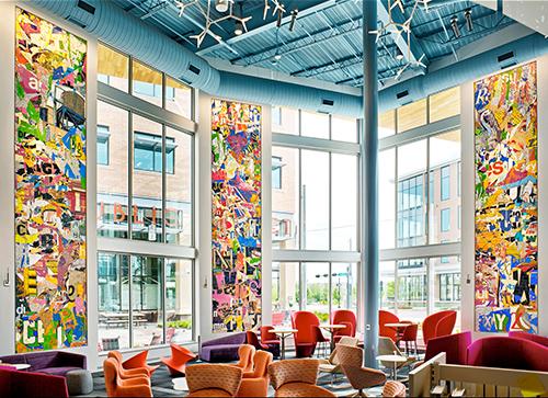 Alphabet books inspire new library's public art | The