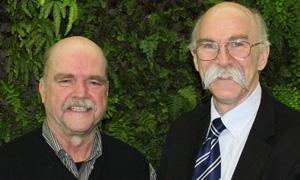 Greg Thomas, left, and Kirk McClure