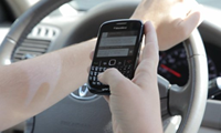 Paul Atchley's work has been featured in stories about the dangers of texting and driving.