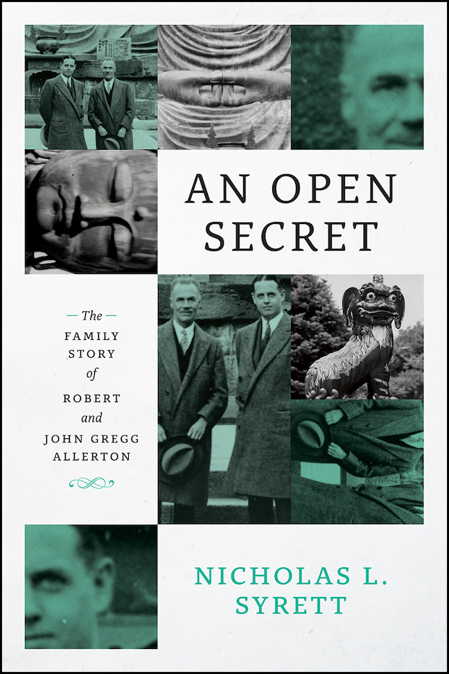 'An Open Secret' book cover